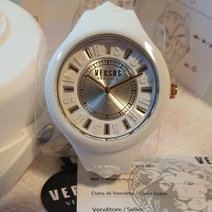 Versus By Versace Fire Island Silicone Strap